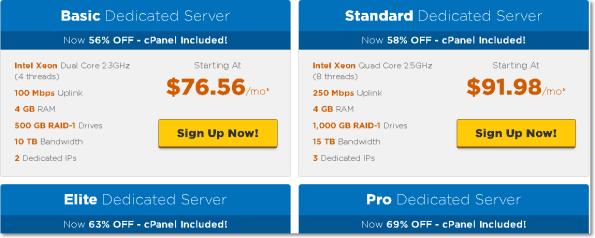 Dedicated Server Hostgator