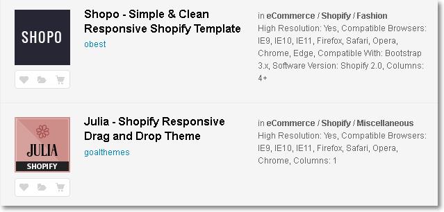 434 Shopify Themes