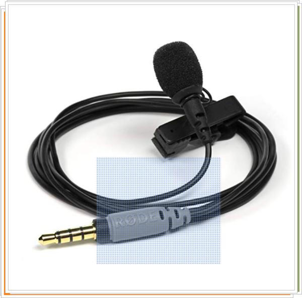 Rode Smartlav+ - Micrófono, color negro