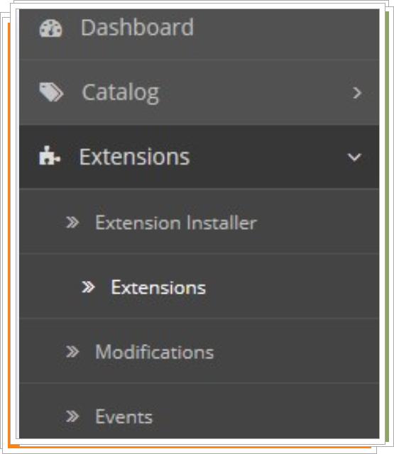 Extensiones opencart