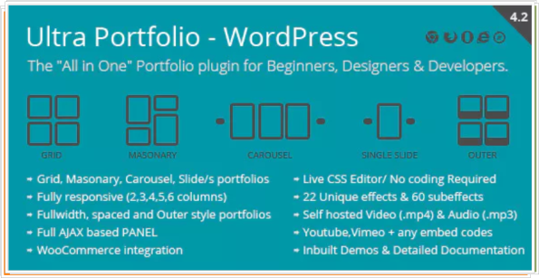 Ultra Portfolio - WordPress